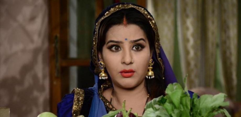 """Shilpa Shinde as Angoori on """"Bhabi Ji Ghar Par Hai!"""""""