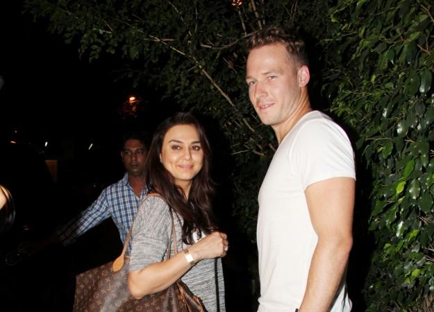 Preity Zinta and husband Gene Goodenough