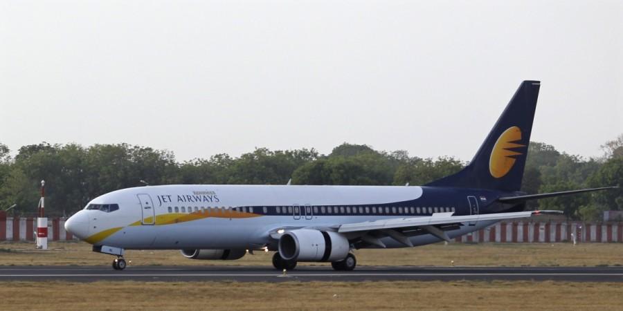 bomb threa Jet airways