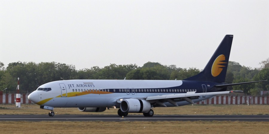 bomb threa Jet airways