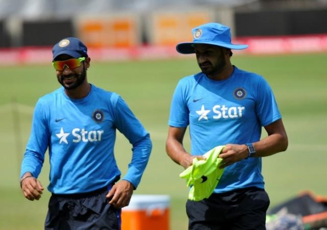 Shikhar Dhawan Harbhajan Singh India World T20 2016
