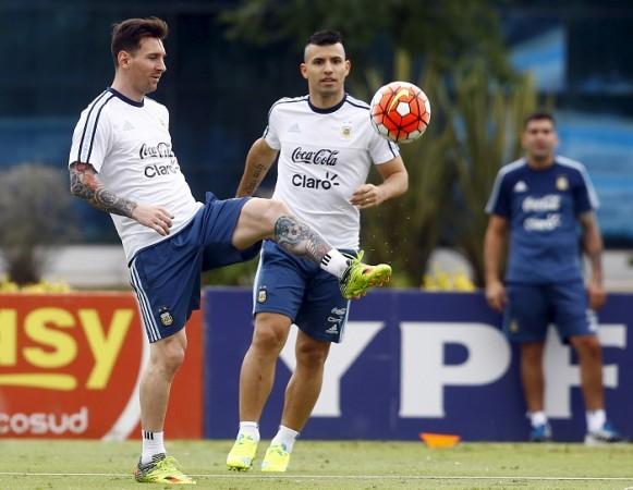 Lionel Messi Sergio Aguero