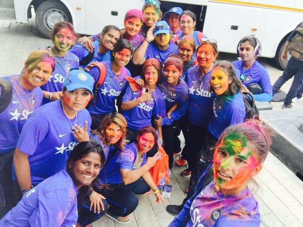 india cricket holi