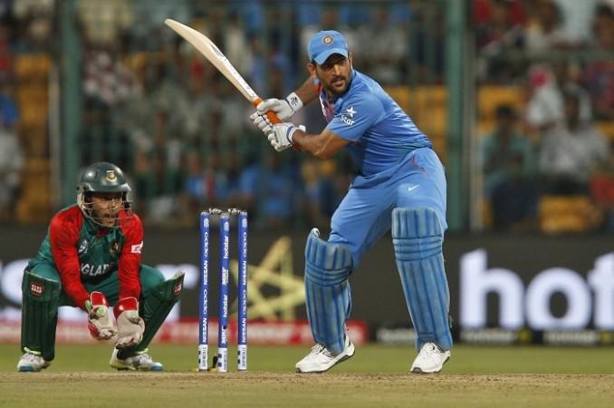 MS Dhoni India Bangladesh World T20 2016