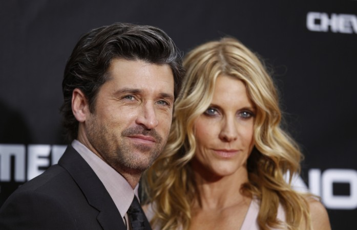 Patrick Dempsey and wife Jillian Fink