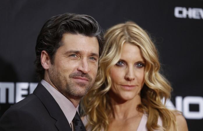 Patrick Dempsey and wife Jillian Fink