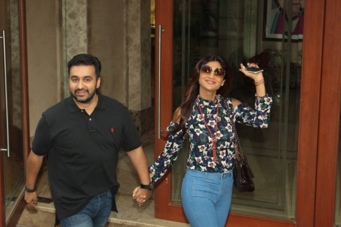 "Shilpa Shetty Kundra to judge ""India's Super Dancer."" Pictured: Shilpa Shetty Kundra with her husband Raj Kundra"