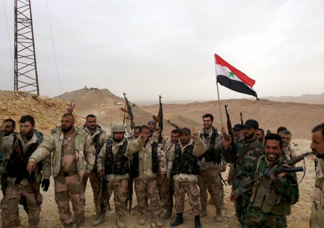 Syrian forces advances inside Palmyra