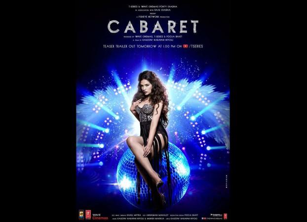 Richa Chadha's 'Cabaret' poster