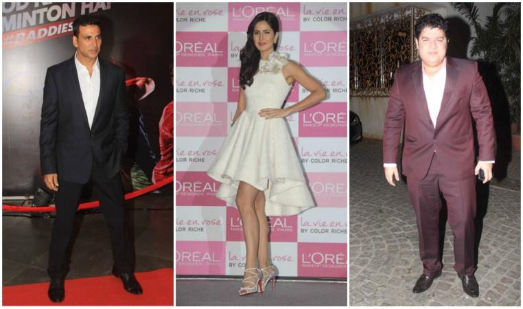 Akshay Kumar, Katrina Kaif, Sajid Khan