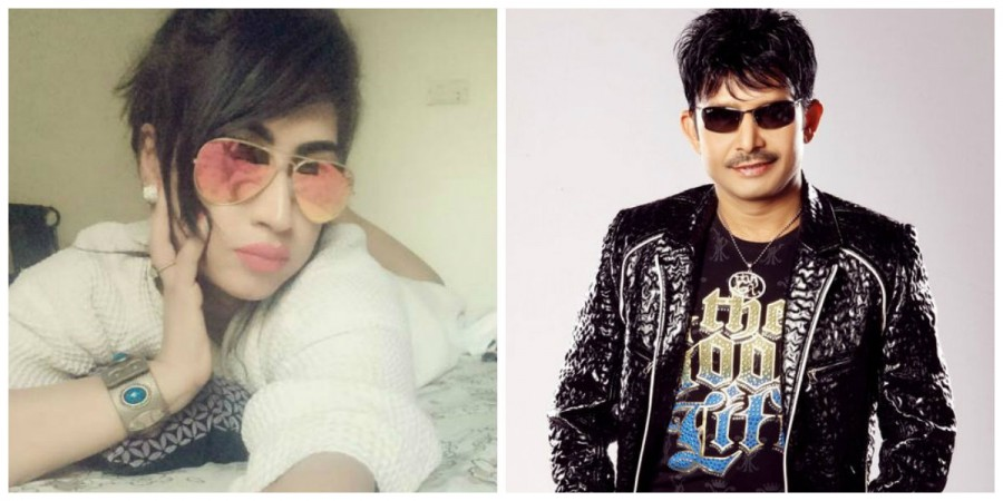 Qandeel Baloch and Kamaal R Khan