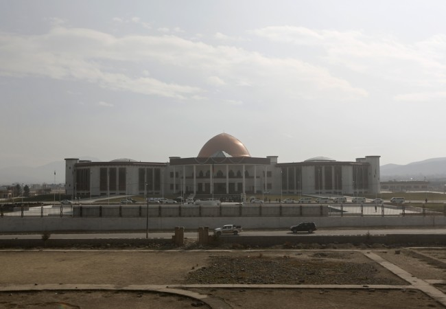 Kabul parliament building attack