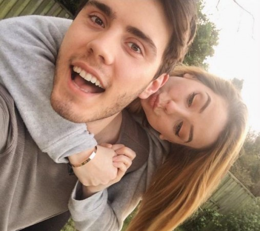 Alfie and Zoella