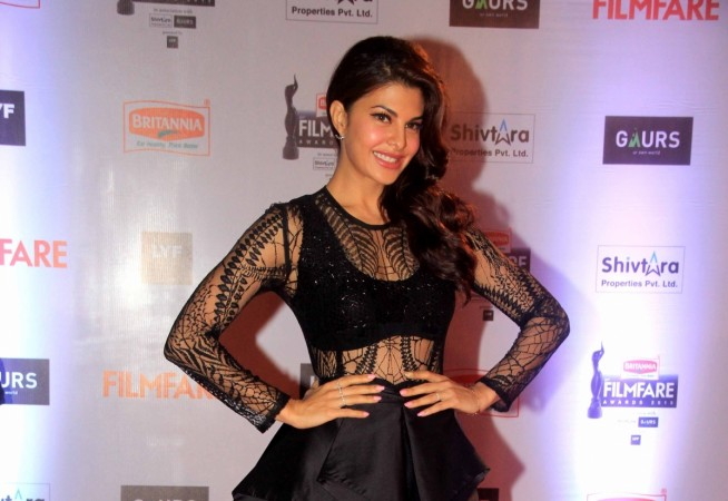 "Jacqueline Fernandez refuses to promote ""Dishoom"" on ""Comedy Nights Bachao."" Pictured: Jacqueline Fernandez"
