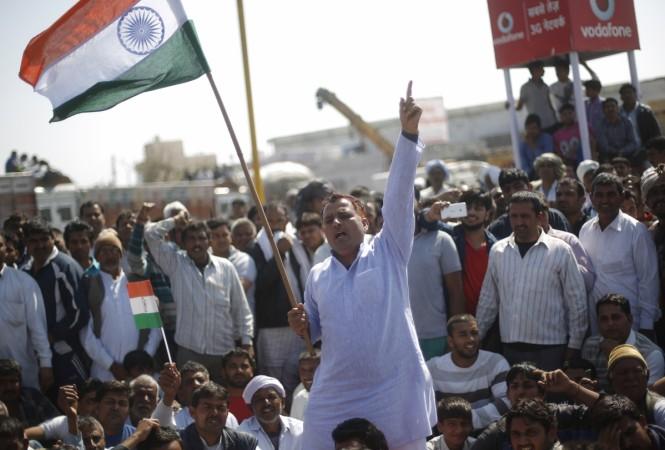 Haryana protest