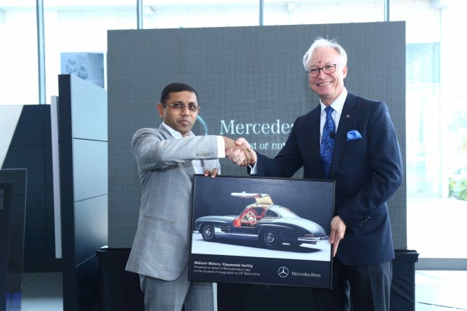 Mercedes-Benz opens new dealership in Vijayawada