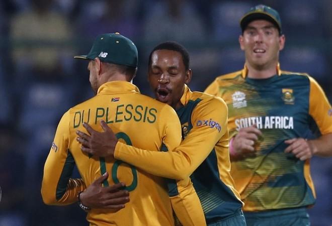 Aaron Phangiso South Africa World T20 2016