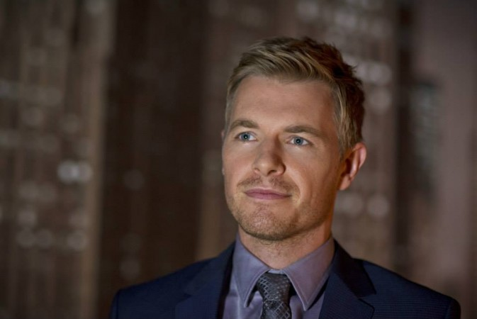 "Rick Cosnett as Eddie Thawne in ""The Flash"""