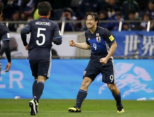Shinji Okazaki Japan Nagatomo