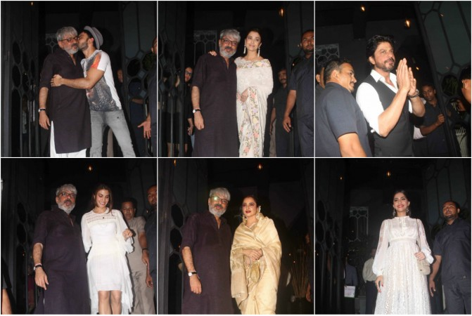 Sanjay Leela Bhansali party