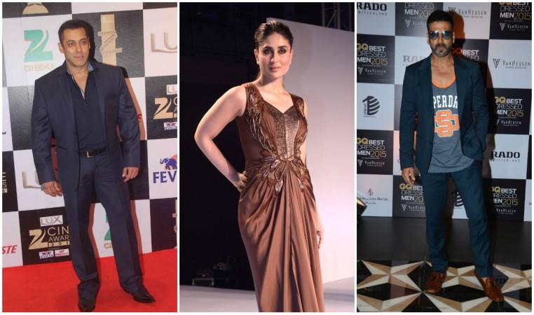 Salman Khan, Kareena Kapoor Khan, Akshay Kumar