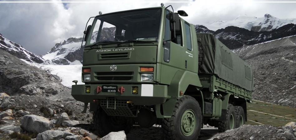 Ashok Leyland trucks