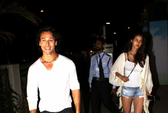 Tiger Shroff goes on a movie date with rumoured girlfriend Disha Patani