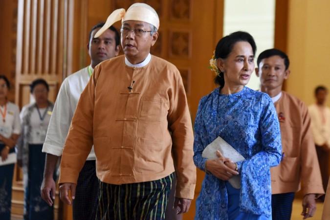 New Myanmar president