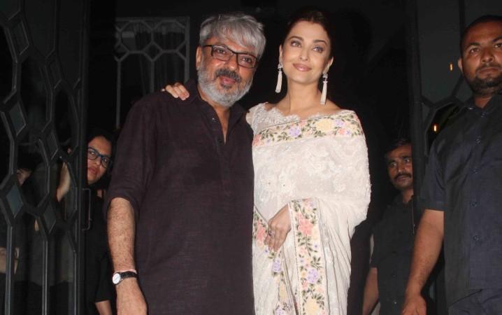 Sanjay Leela Bhansali and Aishwarya Rai Bachchan