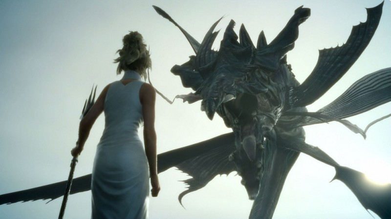 A still from Final Fantasy XV