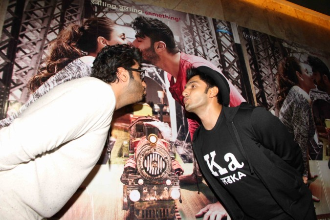 Ranveer Singh and Arjun Kapoor at special screening of