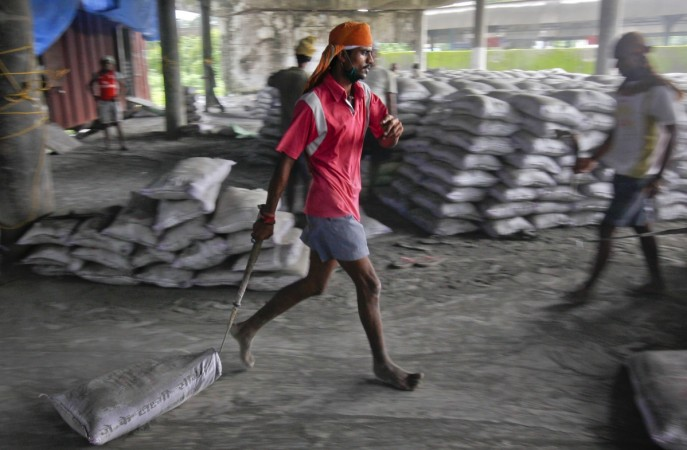 cement index of core industries production IIP