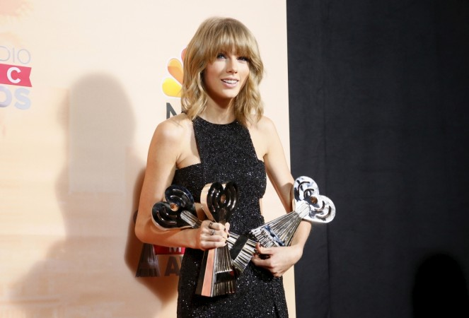 Taylor Swift at iHeartRadio Music Awards 2015