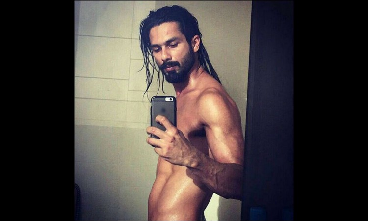 Shahid Kapoor shares his look from