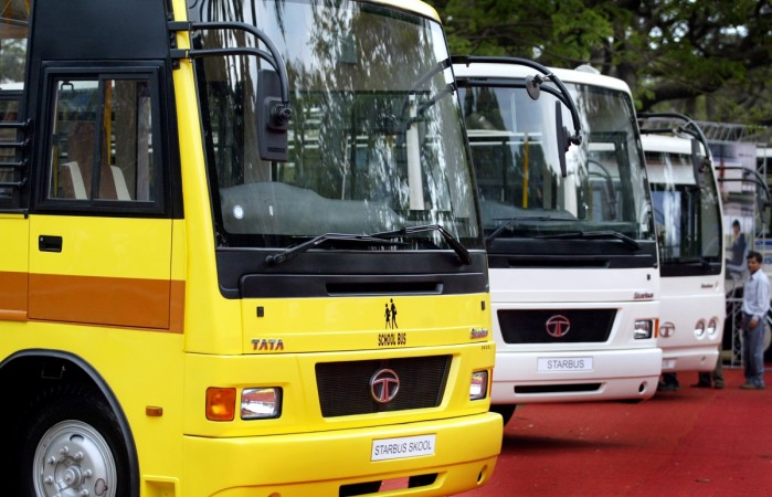 Tata Motors buses commercial vehicle sales