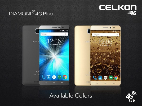 Celkon launches ultra-affordable Diamond Q4G Plus with great looks in India