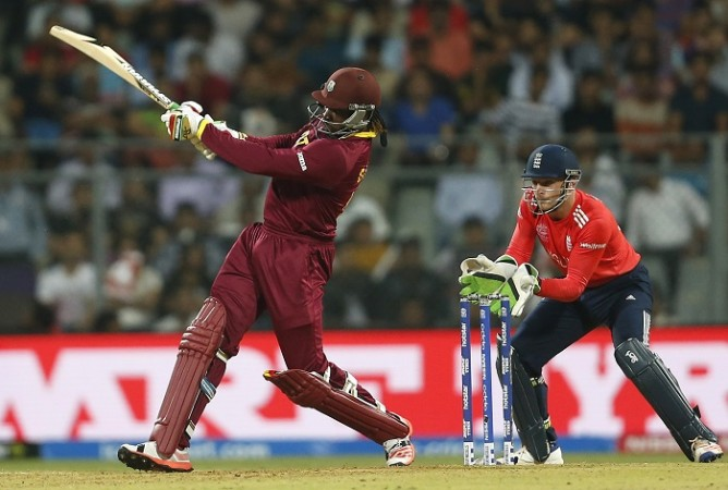 Chris Gayle West Indies Jos Buttler England World T20 2016