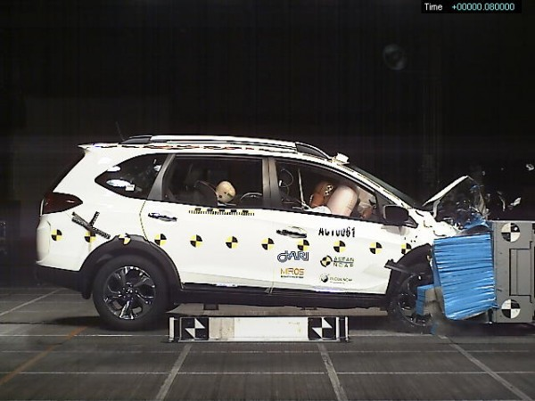 Honda BR-V crash test