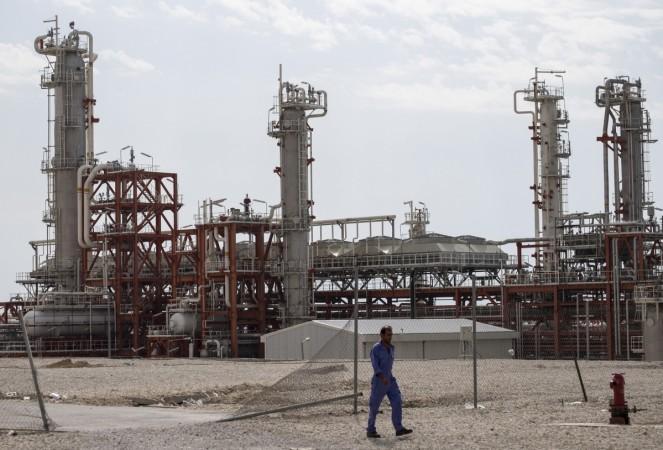 Oil fields in Iran