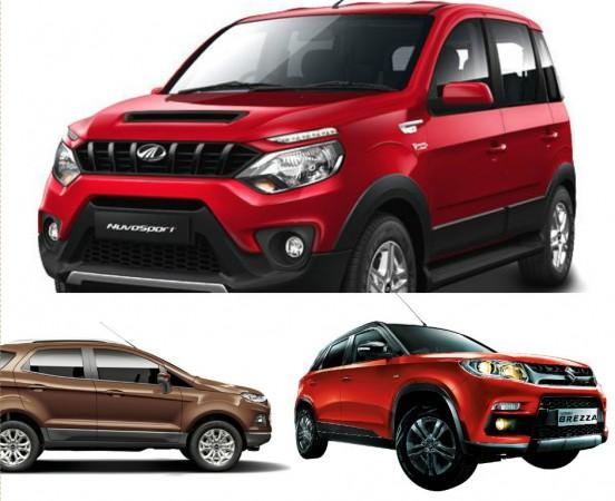 Mahindra NuvoSport Vs Maruti Suzuki Vitara Brezza Vs Ford EcoSport