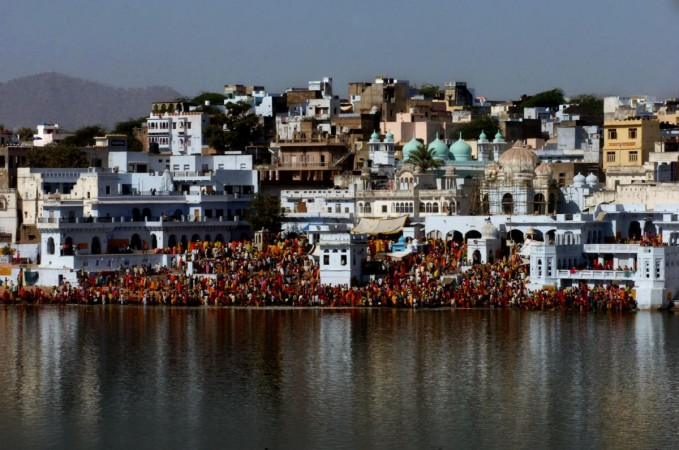 temple in pushkar
