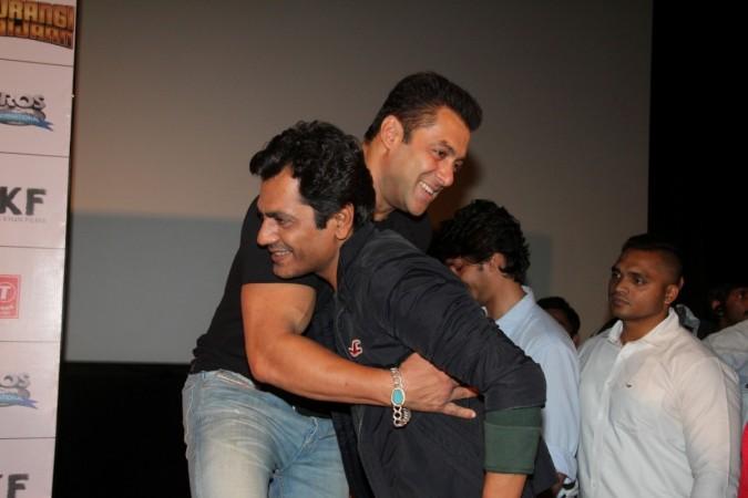 Salman Khan and Nawazuddin Siddiqui