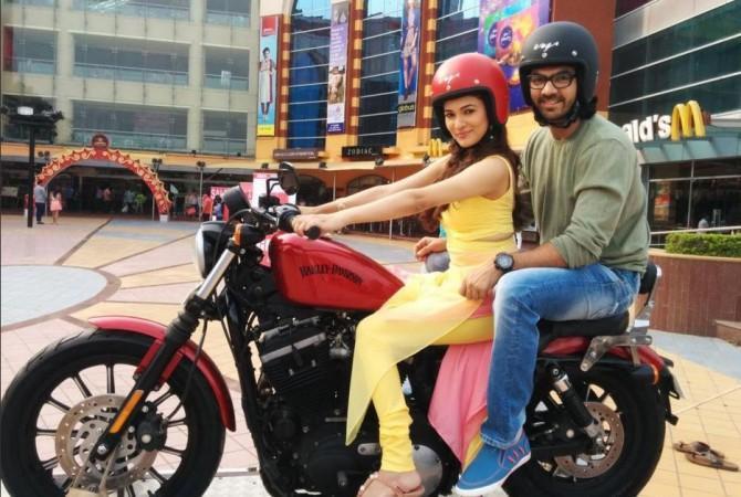 "Karan V Grover not to quit ""Bahu Hamari Rajni_Kant."" Pictured: ""Bahu Hamari Rajni_Kant"" co-stars Karan V Grover and Ridhima Pandit"