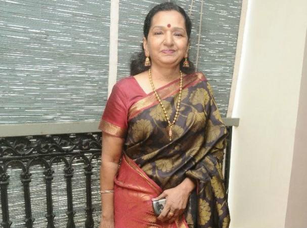 Vijay's mother Shoba Chandrasekhar