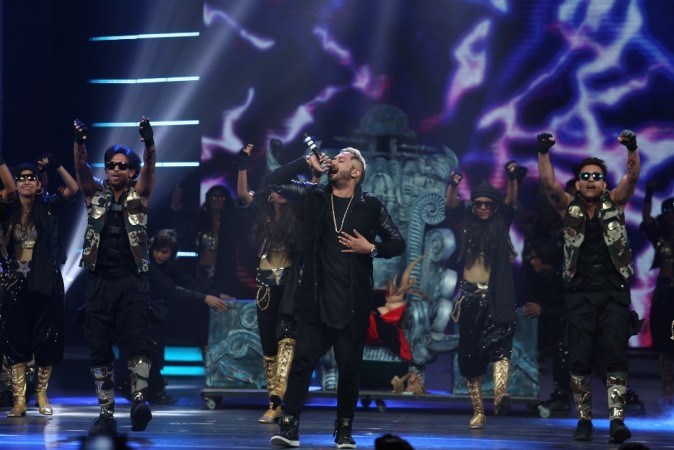 Yo Yo Honey Singh at GiMA 2016