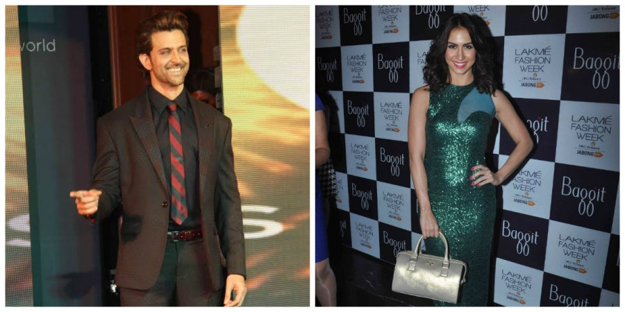 Hrithik Roshan and Lauren Gottlieb
