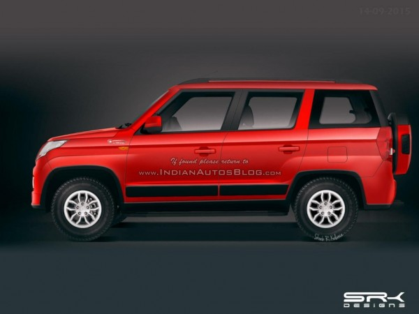 Mahindra readying big sized TUV300, likely to be called TUV500