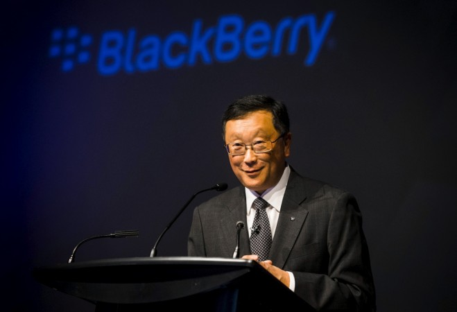 BlackBerry CEO John Chen on the company's plans to revive its hardware business
