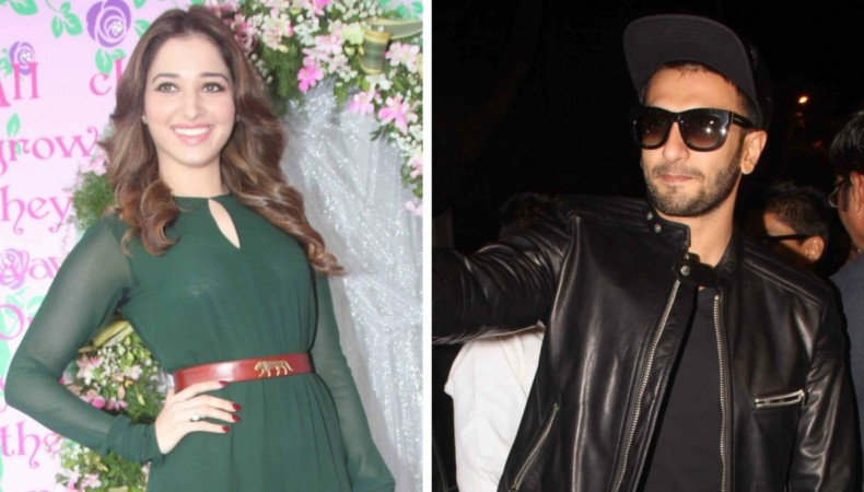 Tamannaah Bhatia and Ranveer Singh to team up for a project
