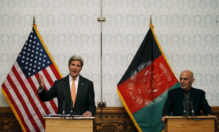 John Kerry's surprise visit to Kabul